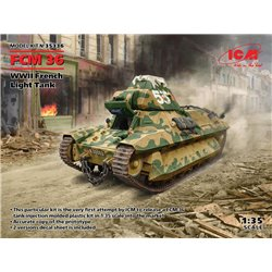 ICM 35336 1/35 FCM 36, WWII French Light Tank