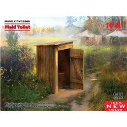 ICM 35800 1/35 WC (Field Toilet)
