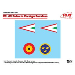 ICM D3206 1/32 CR. 42 Falco in Foreign Services