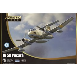 KINETIC K48078 1/48 IA-58 Pucara