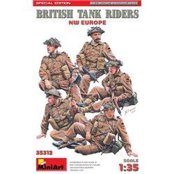 MINIART 35312 1/35 British Tank Riders (NW Europe). Special Edition