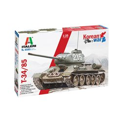 ITALERI 6585 1/35 T 34/85 Korean War