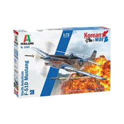 ITALERI 1452 1/72 FP-51D Mustang Korean War