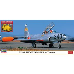 HASEGAWA 02363 1/72 T-33A Shooting Star w/Tractor