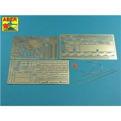 ABER 16015 1/16 Pz.Kpfw.V, Ausf.G (Sd.Kfz.171) Panther G - Vol.1 - Basic set for Tamiya