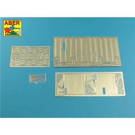ABER 16017 1/16 Pz.Kpfw.V, Ausf.G (Sd.Kfz.171) Panther G - Vol.3 - Fenders for Tamiya