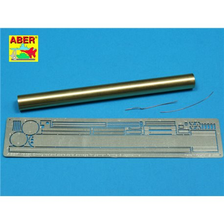 ABER 16020 1/16 Panther G/Jagdpanther Vol. 6 - Clean rod and spare aerial stowage for Tamiya