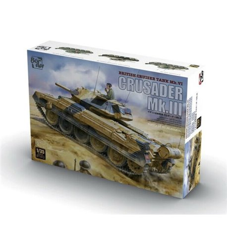 BORDER MODEL BT-012 1/35 Crusader Mk.III