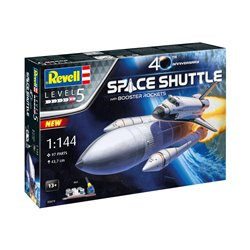 REVELL 05674 1/144 Space Shuttle& Booster Rockets, 40th
