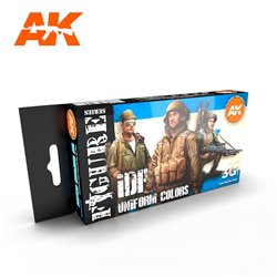 AK INTERACTIVE AK11631 IDF UNIFORM COLORS SET