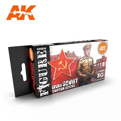 AK INTERACTIVE AK11635 SOVIET WWII UNIFORM COLORS SET