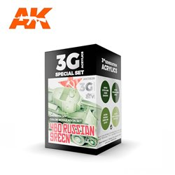 AK INTERACTIVE AK11639 MODULATION 4BO RUSSIAN GREEN SET