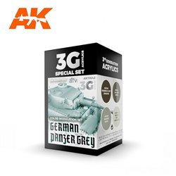 AK INTERACTIVE AK11642 MODULATION GERMAN PANZER GREY SET