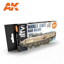 AK INTERACTIVE AK11648 MIDDLE EAST WAR COLORS SET