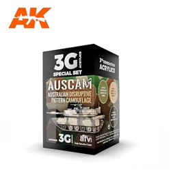 AK INTERACTIVE AK11649 AUSCAM COLORS SET