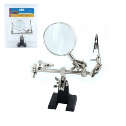 ModelCraft PCL2228 Helping Hands with Glass Magnifier