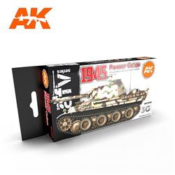 AK INTERACTIVE AK11654 1945 GERMAN LATE COLORS SET