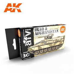 AK INTERACTIVE AK11655 IRAQ & AFGHANISTAN SET