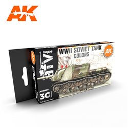 AK INTERACTIVE AK11657 SOVIET CAMOUFLAGES SET