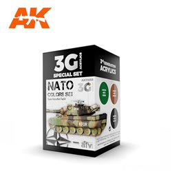 AK INTERACTIVE AK11658 NATO COLORS SET