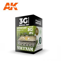 AK INTERACTIVE AK11659 VIETNAM COLORS SET