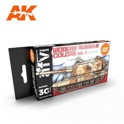 AK INTERACTIVE AK11663 MODERN RUSSIAN COLOURS VOL 2 SET
