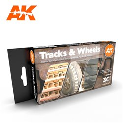 AK INTERACTIVE AK11672 TRACKS AND WHEELS SET