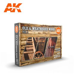 AK INTERACTIVE AK11673 OLD & WEATHERED WOOD VOL1 SET