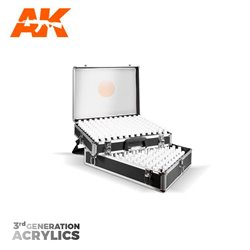 AK INTERACTIVE AK11701 BRIEFCASE 236 COLORS ACYLICS