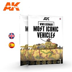 AK INTERACTIVE AK514 WWII GERMAN MOST ICONIC SS VEHICLES. VOLUME 1