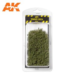 AK INTERACTIVE AK8166 SUMMER GREEN SHRUBBERIES