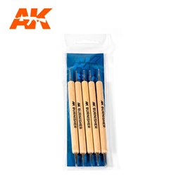 AK INTERACTIVE AK9052 SCULPTING BURNISHERS SET