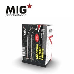 MIG PRODUCTIONS MP35-105 1/35 MODERN STREET LAMPS
