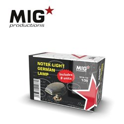 MIG PRODUCTIONS MP35-130 1/35 NOTEK LIGHT GERMAN LAMP