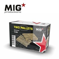 MIG PRODUCTIONS MP35-267 1/35 TWO PALLETS