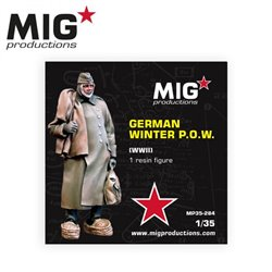 MIG PRODUCTIONS MP35-284 1/35 GERMAN WINTER P.O.W WWII