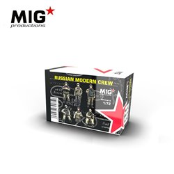 MIG PRODUCTIONS MP72-412 1/72 RUSSIAN MODERN CREW