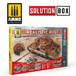 AMMO BY MIG A.MIG-7719 SOLUTION BOX - Realistic Rust