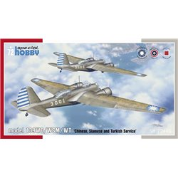 SPECIAL HOBBY SH72440 1/72 model 139WC/WSM/WT Chinese, Siamese and Turkish Service