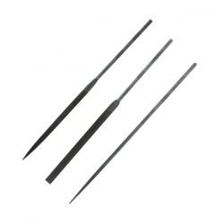 ModelCraft PKF3443/2 Set de 3 limes de précision - 3 Precision Needle Files