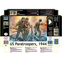 MASTERBOX MB35219 1/35 US Paratroopers 1944