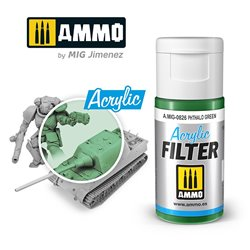 AMMO BY MIG A.MIG-0826 ACRYLIC FILTER Phthalo Green 15 ml.