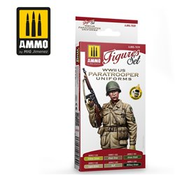 AMMO BY MIG A.MIG-7039 WWII US Paratroopers Uniforms SET