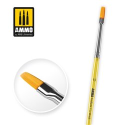 AMMO BY MIG A.MIG-8622 10 Synthetic Flat Brush