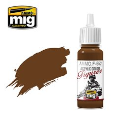 AMMO BY MIG AMMO.F-552 RED LEATHER 17 ml.