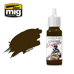 AMMO BY MIG AMMO.F-553 BURNT BROWN RED 17 ml.