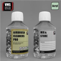 VMS VMS.TC01C Airbrush Cleaners Pro concentrate & Mix bottle 200 ml