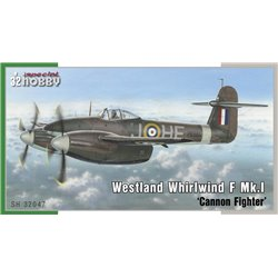 SPECIAL HOBBY SH32047 1/32 Westland Whirlwind Mk.I 'Cannon Fighter'