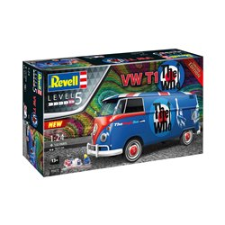 REVELL 05672 1/24 VW T1 Bus The Who Gift Set