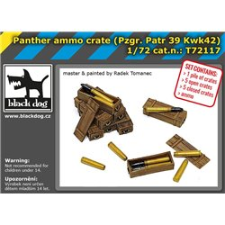 BLACK DOG T72117 1/72 Panther ammo crate